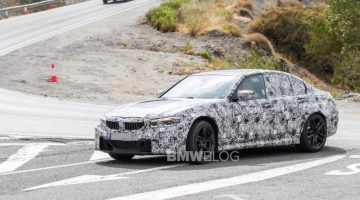 SPIED: G80 BMW M3 caught at the 'Ring yet again