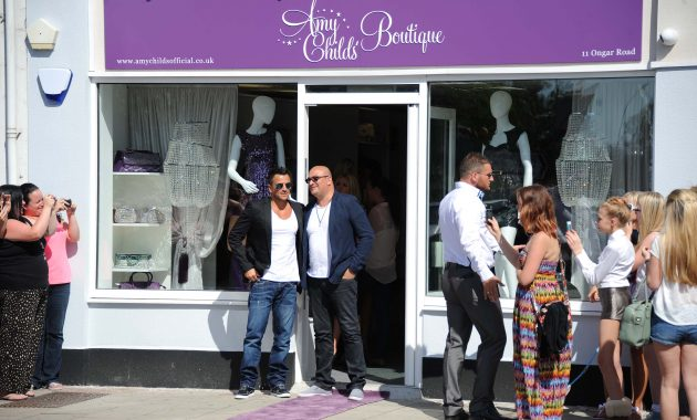 Peter Andre and brother Andrew