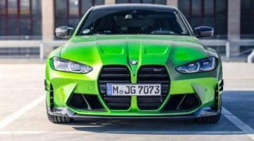 Java Green G80 BMW M3 gets aggressive with new M Performance Parts